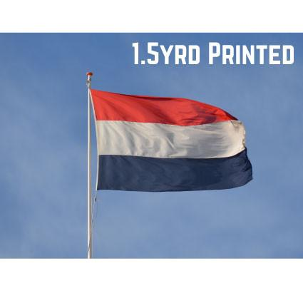 Printed Polyester Netherlands Flag 1.5yrd