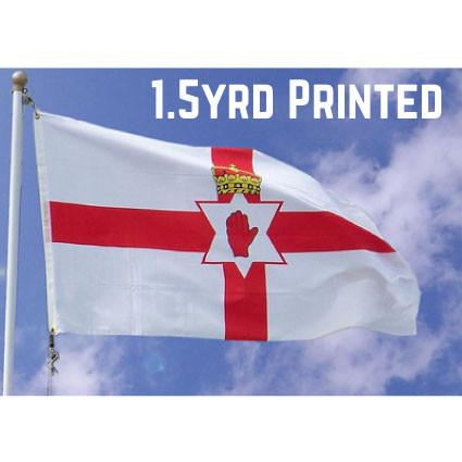 Printed Polyester Northern Ireland Flag 1.5yrd