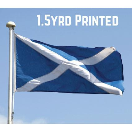 Printed Polyester St. Andrews Flag 1.5yrd