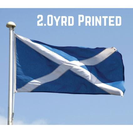Printed Polyester St. Andrews Flag 2.0yrd