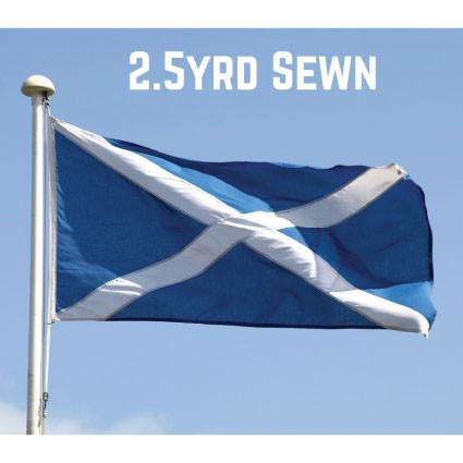Sewn Woven Polyester St. Andrews Flag 2.5yrd