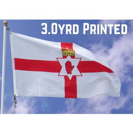 Printed Polyester Northern Ireland Flag 3.0yrd