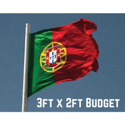 Budget Portugal Flag 3ft x 2ft