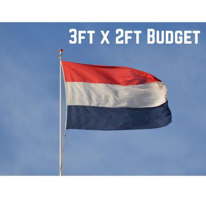 Budget Netherlands Flag 3ft x 2ft