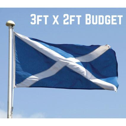 Budget St. Andrews Flag 3ft x 2ft