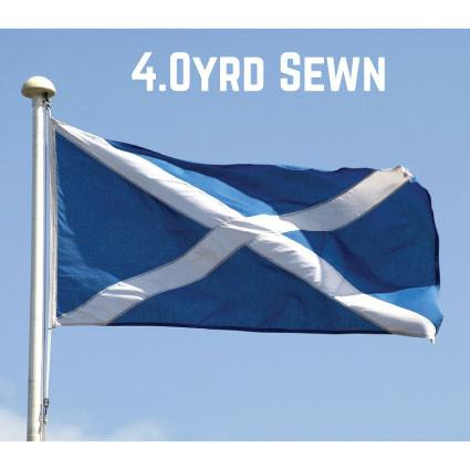 Sewn Woven Polyester St. Andrews Flag 4.0yrd (Light Blue)
