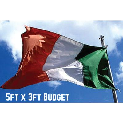 Budget Ireland Flag 5ft x 3ft