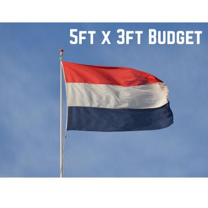 Budget Netherlands Flag 5ft x 3ft
