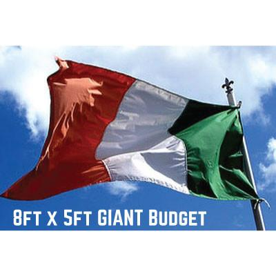 Budget Ireland Flag 8ft x 5ft