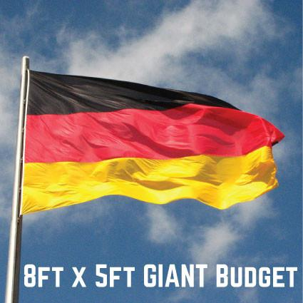Budget Germany Flag 8ft x 5ft