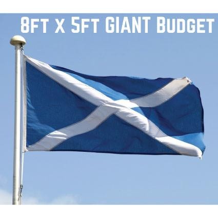 Budget St. Andrews Flag 8ft x 5ft