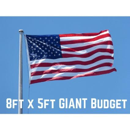 Budget USA Flag 8ft x 5ft