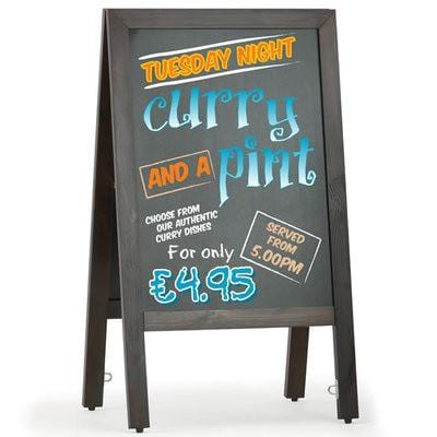 A1 Chalkboard Pavement Sign
