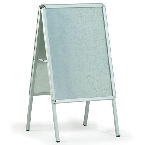 Large Aluminium poster grip A-board