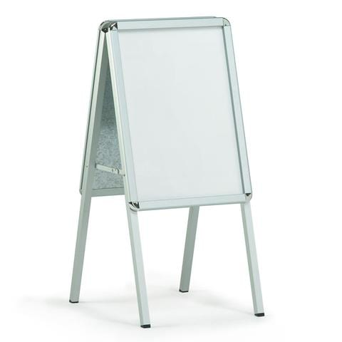 Small Aluminium poster grip A-board