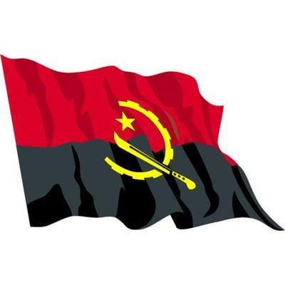 Angola 1.52m x 0.91m (5ftx 3ft) Budget Display Flag