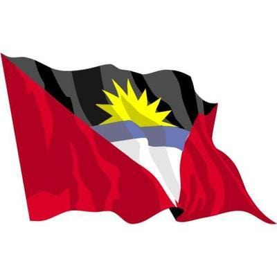 Antigua 1.52m x 0.91m (5ftx 3ft) Budget Display Flag