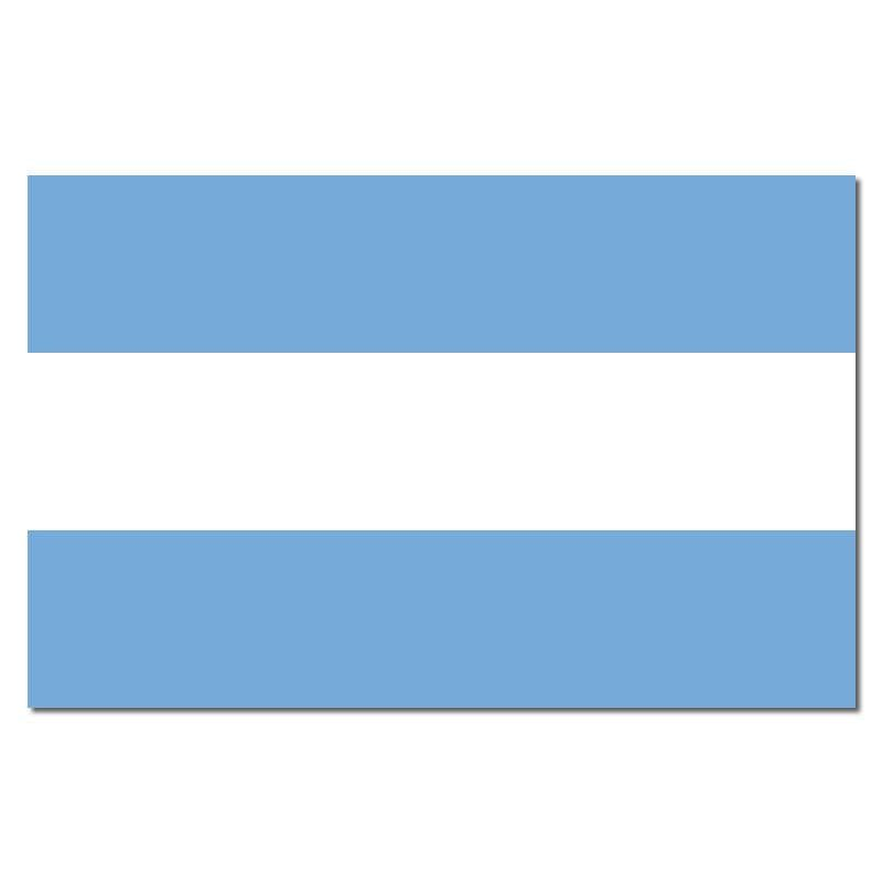 Argentina Budget Display Flag 91cm x 60cm (3ft x 2ft)