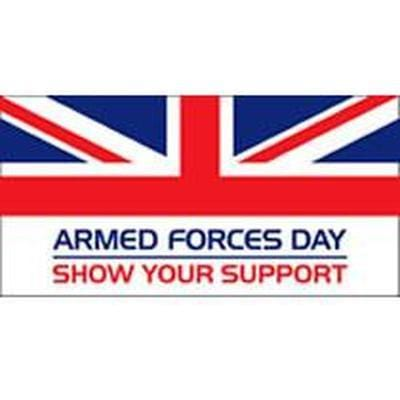 Armed Forces Day Flag - 5ft x 3ft