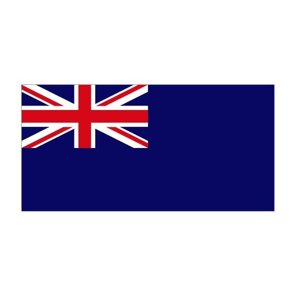 Blue Ensign Flag 2.5yd (229cm x 114cm) Printed Polyester