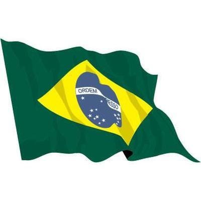 Brazil 1.52m x 0.91m (5ftx 3ft) Budget Display Flag