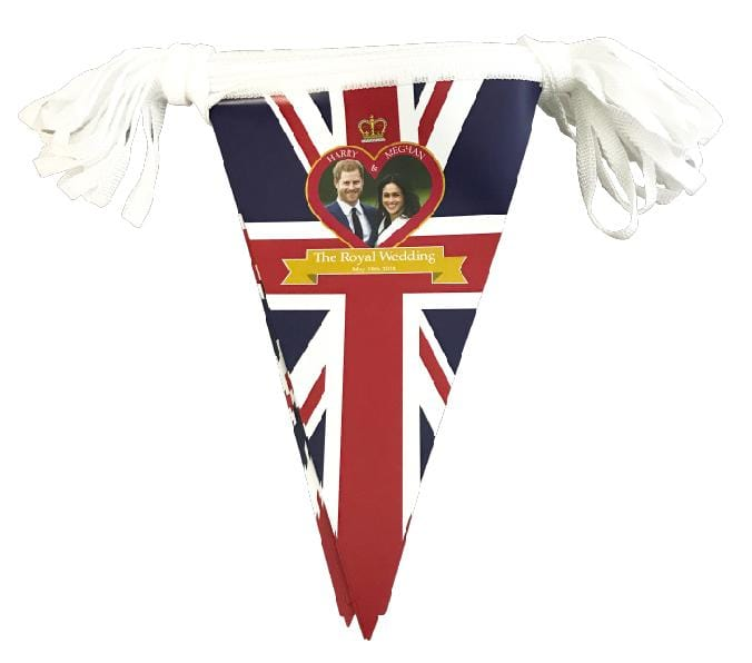 Royal Wedding Bunting - Triangle