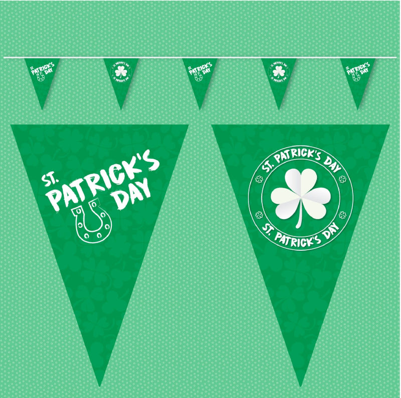 St Patrick's Day Bunting. Ideal for St Paddys day celerations