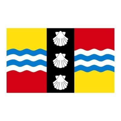 Bedfordshire 5ft x 3ft County Flag