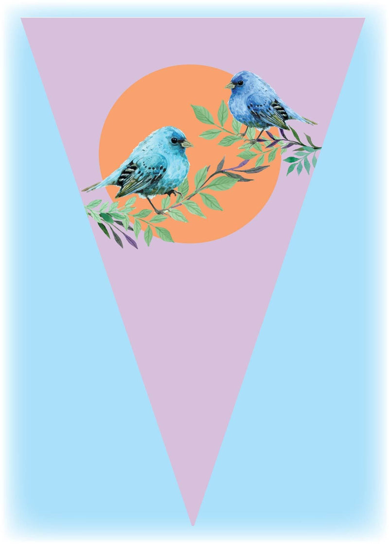 colourful birs bunting 4