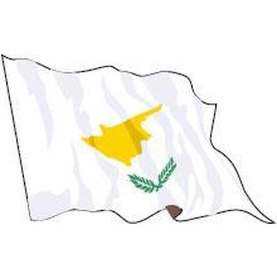 Cyprus Sewn Flag with Rope & Toggle