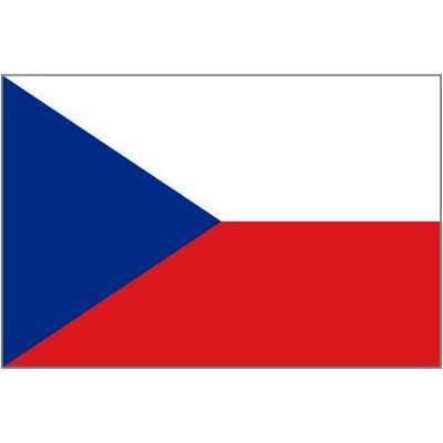 Czech Republic Table Flag