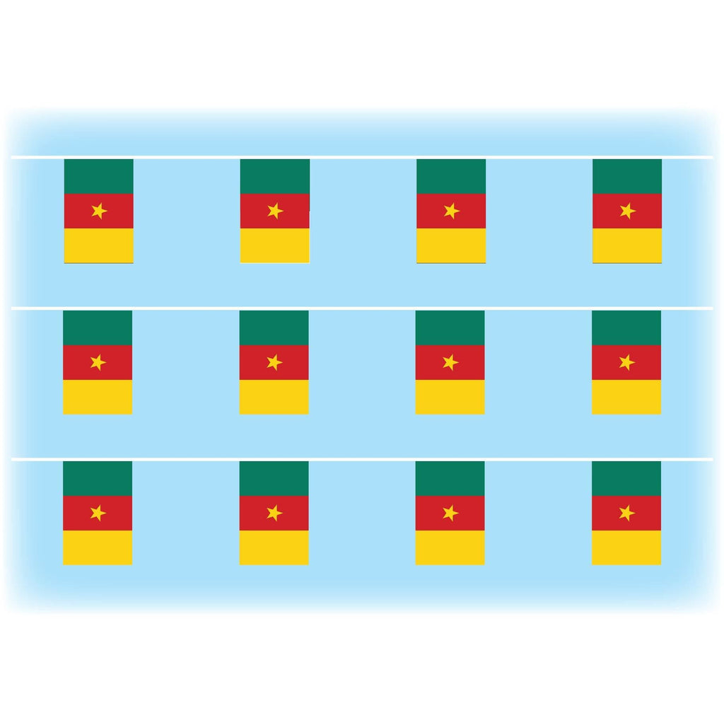 Cameroon flag bunting
