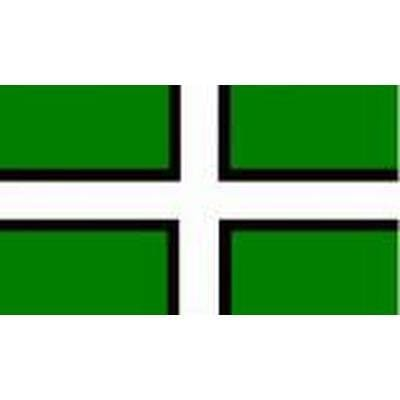 Devon Cross 5ft x 3ft County Flag