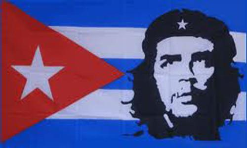 Che Guevara 2 Flag - 5ft x 3ft
