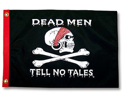 Dead Men Tell No Tales Flag - 5ft x 3ft