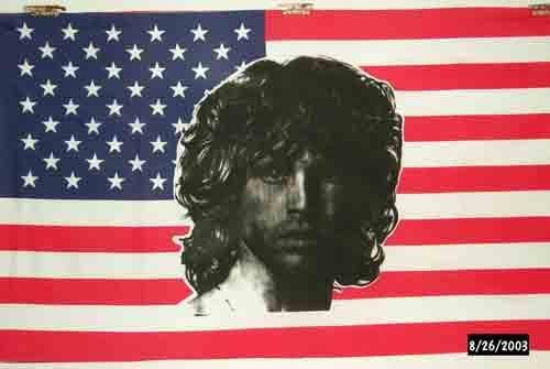 Jim Morrison USA Flag - 5ft x 3ft