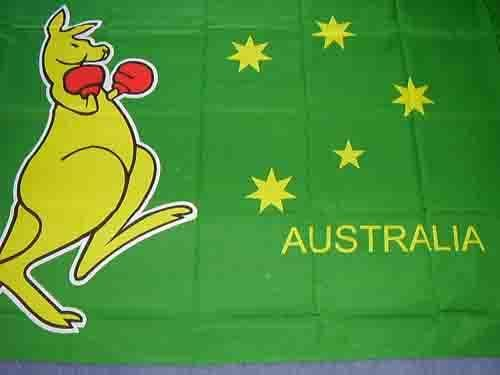 Kangaroo Flag - 5ft x 3ft