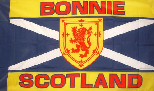 Bonnie Scotland Flag - 5ft x 3ft