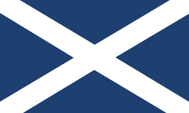 Sewn Woven Polyester St. Andrews Flag 1.0yrd (Dark Blue)