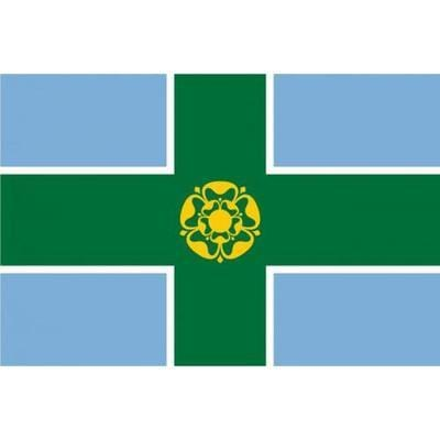 Derbyshire 5ft x 3ft County Flag