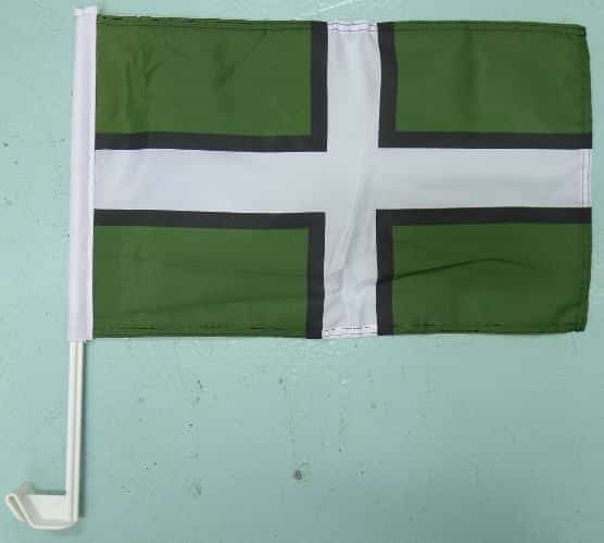 Devon County Small Hand Waving Flag Devon Seller