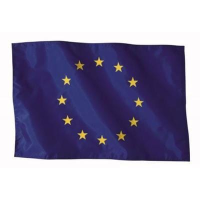 EU Flag 2.0yrd (183cm x 91cm) Printed Knitted Polyester
