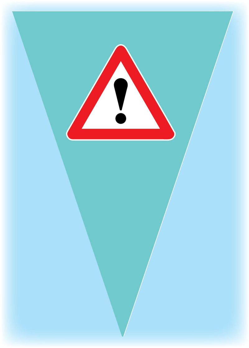 Educational safety bunting 2