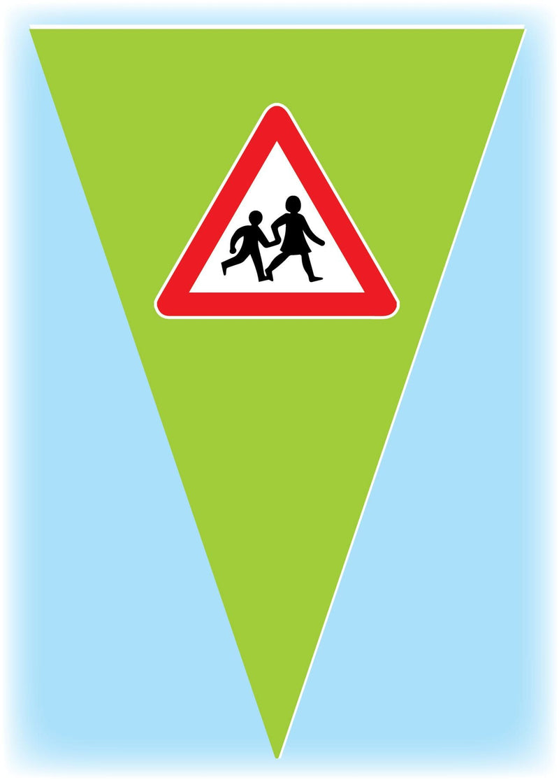educational safety bunting 9