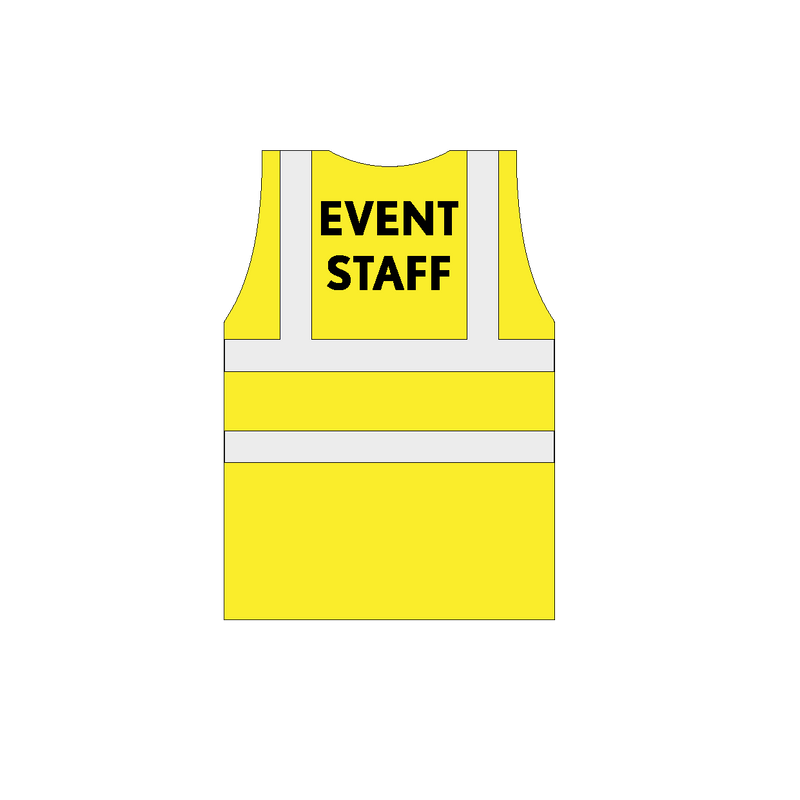 Event staff Hi-Vis vests