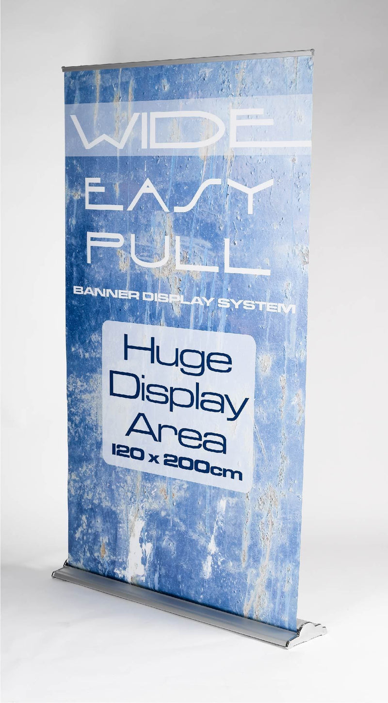 EXTRA WIDE Roller Banner