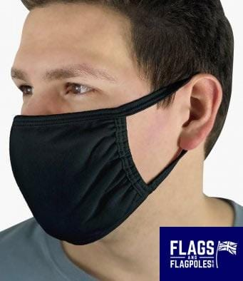 Personalised Face coverings - Black