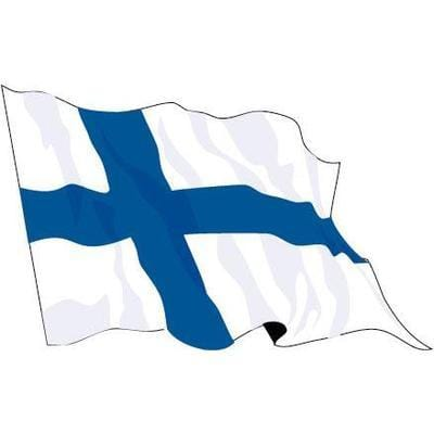 Finland 1.52m x 0.91m (5ftx 3ft) Budget Display Flag