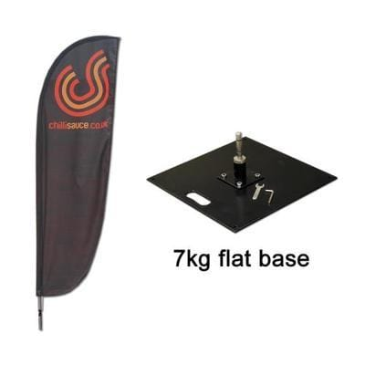 Small Feather Flag with 7kg base