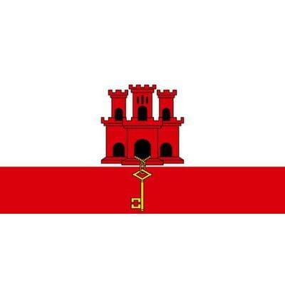 Gibraltar 1.52m x 0.91m (5ftx 3ft) Budget Display Flag